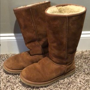Tall Chestnut Ugg Boots Well Loved